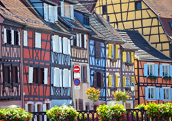"<strong>Colmar, France</strong>  As the capital of central Alsace, <a href=""http://www.ot-colmar.fr/index.php?lang=en"" target=""_blank"">Colmar</a> offers a delightful mixture of French culture and Bavarian architecture. Though the city is more than 1,000 years old, it remains fairly well preserved, and the colorful, half-timbered homes look like they are ripped right from the pages of a childhood fairytale. Each year, the town is transformed into a brightly-lit wonderland for the Christmas Markets, when visitors rejoice in purchasing handmade goods and foods.   (Photo: iStockphoto/Grafissimo)"