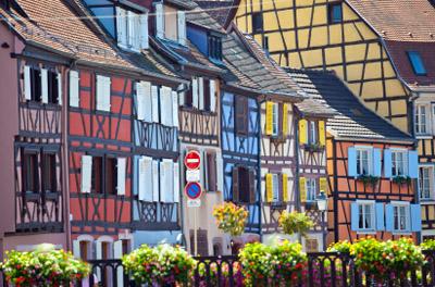 France: Colmar Houses