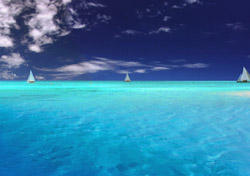 Sailboats on Crystal Blue Water (Photo: Thinkstock/Hemera)