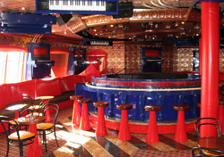 Piano bar on the Carnival Freedom (Photo:Carnival)