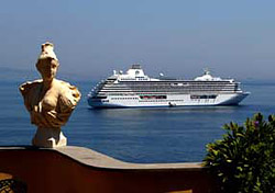 Crystal Serenity in Sorrento, Italy (Photo: Crystal)