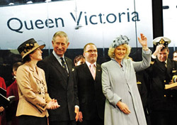 Queen Victoria naming ceremony (Photo: Cunard)