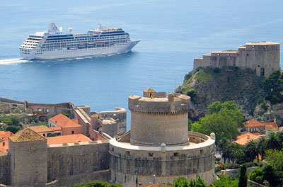 Oceania Insignia in Dubrovnik, Croatia