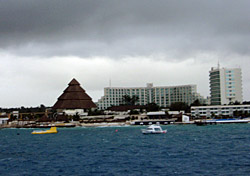Overcast Cozumel (Photo: Erica Silverstein)