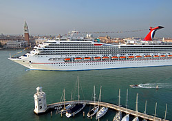 Carnival Freedom in Venice (Photo: Carnival)