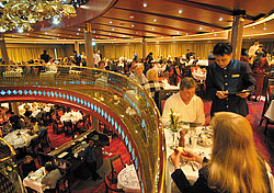 Vista Dining Room on the ms Zuiderdam