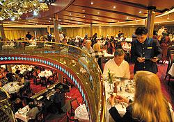 Vista Dining Room on the ms Zuiderdam