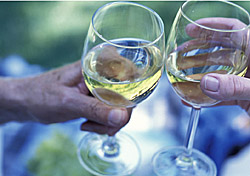 Wine glass toast (Photo: Index Open)