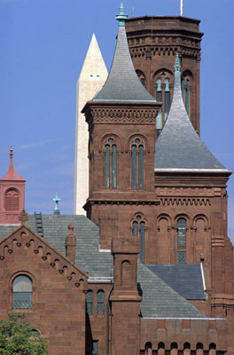 Washington, D.C. - Smithsonian Castle