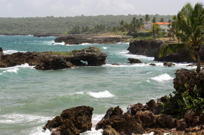 Dominican Republic Rocky Beach