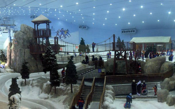 Dubai Indoor Skiing (Photo: flickr/Curtis Palmer)