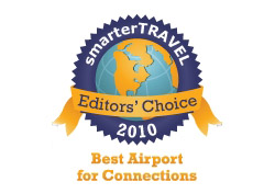 Editor's Choice Badge: Best Airport for Connections