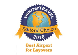 Editor's Choice Badge: Best Airport for Layovers