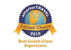 Editor's Choice Badge: Best Coach Class Experience