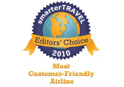 Editor's Choice - Most Consumer Friendly Airline