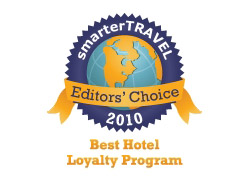 Editor's Choice Badge: Best Hotel Loyalty Program