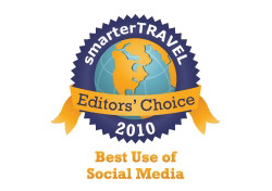 Editor's Choice Badge: Airline with Best Use of Social Media