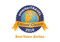 Editor's Choice Badge: Best Value Airline