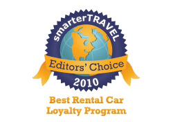 Editor's Choice Badge: Best Rental Car Program