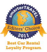 Editors' Choice Badge: Car Rental