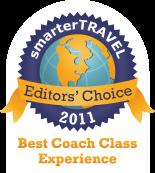 Editors' Choice Badge: Coach-Class Experience