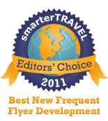 Editors' Choice Badge: Frequent Flyer