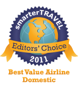Editors' Choice Badge: Value Airline Domestic