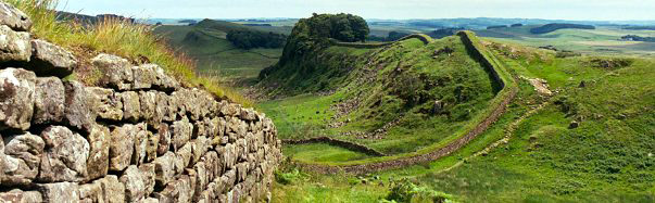 Hiking along Hadrian's Wall, Northumberland, England (Photo: Josh Roberts)