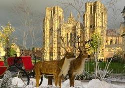 Christmas at Wells (Photo: Thinkstock/iStockphoto)