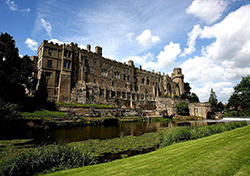 Warwick Castle, England (Photo: Wikimedia Commons via CC Attribution)