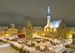 Christmas Market in Tallinn, Estonia (Photo: Swissotel)