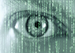 Eye: Man's Eye and Matrix (Photo: Shutterstock/Smit)
