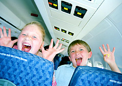 Kids on a plane (Photo: IndexOpen)