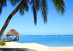 """<h2>Fiji beach</h2> <p>Travel writer and photographer <a href=""""http://www.amandajonestravel.com""""target=""""_blank"""">Amanda Jones</a> selects Fiji as her newest favorite destination. """"Fiji reminds me of Tahiti 20 years ago,"""" she says. """"It has pristine beaches, serene hotel getaways, tropical waters, and some of the best scuba diving in the world. The local people are delightful. There are over 200 islands in the Fiji chain—I recommend the Yasawa Islands for people looking to drop off the planet into a remote paradise.""""</p>  <p>You can find comprehensive trip-planning resources, including interactive maps, visitor testimonials, and videos, on the <a href="""" http://www.bulafiji.com/""""target=""""_blank"""">Fiji Visitor's Bureau website</a>.</p><p>(Photo: iStockphoto.com)</p>"""