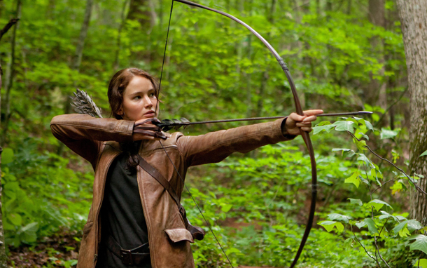 Katniss with Arrow (Photo: Murray Close)