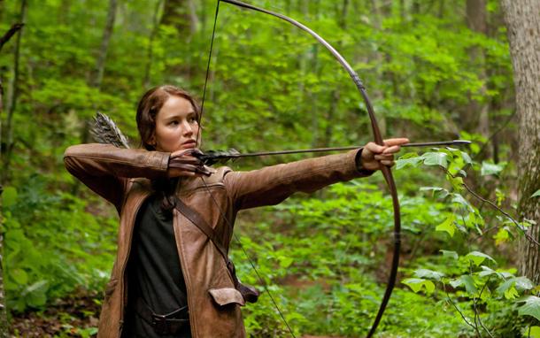 Katniss with Arrow (Photo: Murray Close)