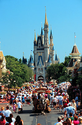Main Street, Disney World, Orlando