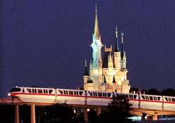 Monorail at Walt Disney World (Photo: Walt Disney World Resort)