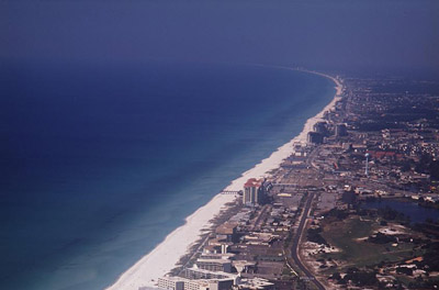Panama City, Florida, beach
