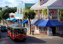 Key West-Duval Street (Photo: Len Kaufman/Florida Keys News Bureau)