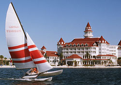 Sailing by Disney's Grand Floridian Resort & Spa, Orlando