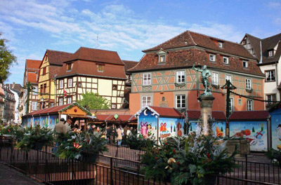 Christmas Markets in Colmar, France