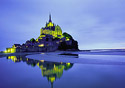 Mont St. Michel at night (Photo: Index Open)