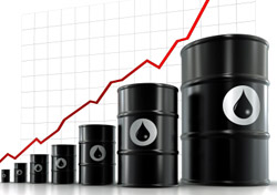 Oil - Rising oil prices chart (Photo: iStockPhoto/Henrik Jonsson)