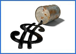 Oil - Oil in the shape of a dollar sign (Photo: iStockPhoto/ Mark Evans)
