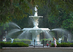 Savannah's Forsyth Park (Photo: Savannah Convention & Visitors Bureau)