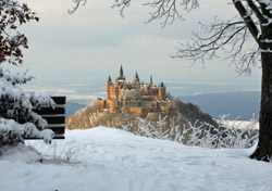 Germany:  Castle Hohenzollern in Winter (Photo: Thinkstock/iStockphoto)