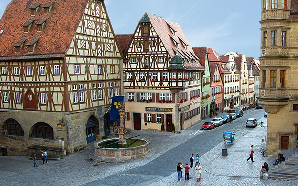 Rothenburg Town Square, Germany (Photo: Rick Steves)