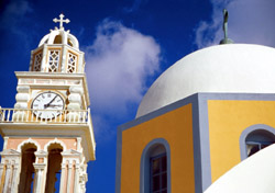 Santorini church, Greece (Photo: IndexOpen)