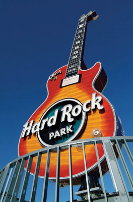 Gibson Guitar at Hard Rock Park, Myrtle Beach, South Carolina